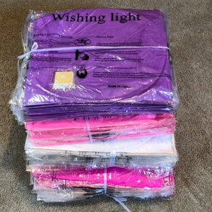 Vintage Party Supplies - Lot of 30 Wish Paper Lanterns